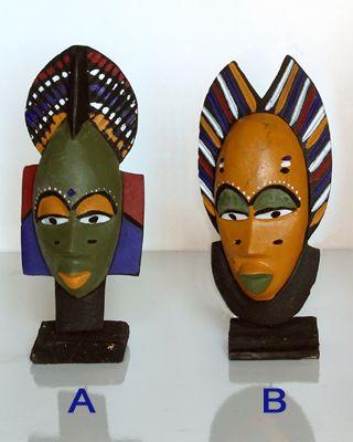 mini-masques africains